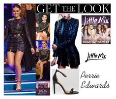 """Perrie Edwards Little Mix Jonathan Ross Show November 11 2016"" by valenlss ❤ liked on Polyvore featuring Public Desire"