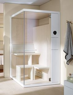 Saunavergnügen im heimischen Badezimmer