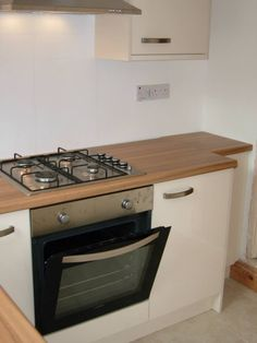 Stainless Steel Appliances add to the contemporary feel.  http://www.ppmsltd.co.uk