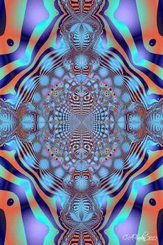 Fractal Art Digital abstract Photo Print How by TerraTreasures, $8.00