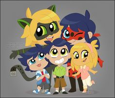 "A picture in honor of the chibi episodes that came out today (er…yesterday I guess, given that it's now because even though the ""watch Chat fail miserably at everything"" plots make me a bit sad (be nice to the kitty, Zag! He is a good boy ; Ladybug Y Cat Noir, Meraculous Ladybug, Ladybug Comics, Ladybugs, Chibi, Cn Fanart, Marinette Ladybug, Miraculous Ladybug Fan Art, Marinette And Adrien"