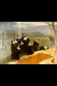 Eleven Nuns - Martyrs of Nowogrodek, Poland