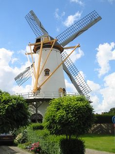 Flour mill De Hoop, Wemeldinge, the Netherlands