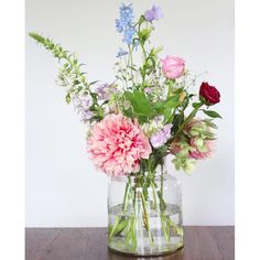 Fresh summer bouquet and a big peony <3 by Judith Slagter // judithslagter.nl