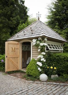 Garden Shed Inspiration - The Wood Grain Cottage