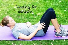 My midwife told me about this. Diastasis Recti: how to heal from having kids and get your abs back together. I didnt know the separation between your abdominal muscles will constantly cause the pooch and crunches could actually worsen the gap. There are exercises here that will help to strengthen your core and make that gap smaller.