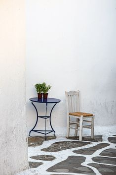 Mykonos, Greece. a quiet corner