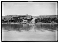 Tabgha on the Sea of Galilee. Photo shot in the 1800s. Arrange your private Israel tour here.