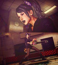 Lollipop Chainsaw- Goth ver.