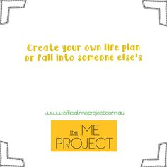 Create Yourself, Create Your Own, Life Plan, Company Logo, Chart, How To Plan, Logos, Projects, Inspiration