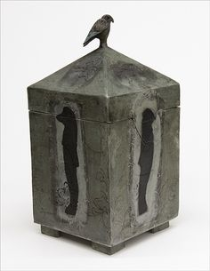 'Strange lands' part of Egyptian series of Dream Boxes by Catherine Brennon www.underbergstudio.co.za