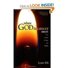 When God & Cancer Meet - A book of powerful stories about cancer patients and their families who have been touched by God in miraculous ways—some in their bodies, others in their minds, all in their spirits—offers inspiring testimony that, when God and cancer meet, cancer is conquered. The author, herself a cancer survivor, gives us a behind-the-scenes glimpse of 18 personal encounters with God.