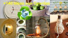 Reciclaje de Cuerdas +140 Ideas / Recycling Ropes +140 Ideas
