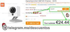 Cámara Wifi IP Xiaomi 1080p por 2444 - http://ift.tt/2hOueEw