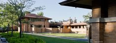 The genius of Frank Lloyd Wright is displayed nowhere better than the Martin House Complex - Robert McCarter