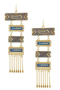Specimen Earrings by Boho & Bourbon on @HauteLook