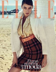 Fashion Special cover for Elle Magazine shot by the fashion photographer Xavi Gordo represented by 8AM -  8 Artist Management  | #artistmangement #fashion #editorial #Elle #8artistmanagement #xavigordo ★★ 8AM / 8 Artist Management ★★  more photos in http://8artistmanagement.com/
