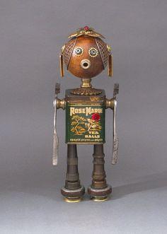 ROBOT SCULPTURE by CastOfCharacters23