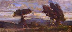 Solitamente quando pensiamoalla pittura dell'Ottocento i primi nomi che ci vengono in mente sono Monet, Manet, Van Gogh, Cézanne… Certamente dopo l'affermazione della borghesia con la …
