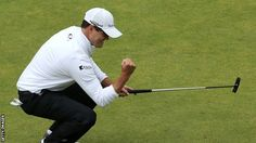 American Zach Johnson claimed his second major title with victory in a three-man play-off on a thrilling final day in the 144th Open Championship. The 2007 Masters winner finished a shot ahead of South African Louis Oosthuizen and three ahead of Australian Marc Leishman over four extra holes.
