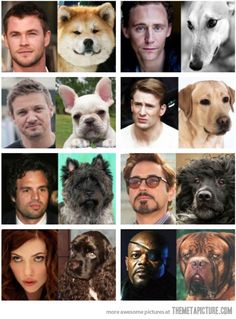 I don't know if I agree with all of these, but look at Hawkeye!