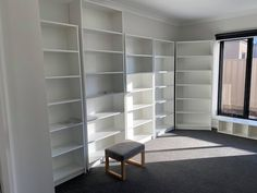 How a Little Idea Became a Little Library Ikea Billy Bookcase Hack, Wall Bookshelves, Wall Shelves, Shelving, Home Library Design, Little Library, 7 Months, Cabinet Makers, Strip Lighting