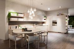 LE DESIGN JAPONAIS À LA SAUCE ITALIENNE. Oki Sato, jeune designer japonais à la renommée internationale, imagine sa première cuisine et sa première salle de bains pour la marque italienne Scavolini
