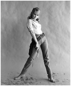 "Jane Fonda, ""Cat Ballou"" (1965). Columbia, Everett collection"
