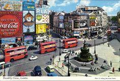 Picadilly Circus, London - 1970