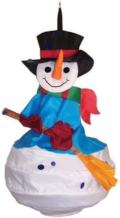 In the Breeze Snowman Wind Friend 3D Windsock * Read more reviews of the product by visiting the link on the image.