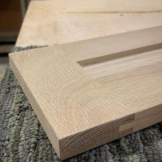 Loving the grain on this solid wood white oak drawer front! Custom Woodworking, Drawer Fronts, Custom Cabinets, Blue Ridge, White Oak, Asheville, Butcher Block Cutting Board, New Construction, Bespoke