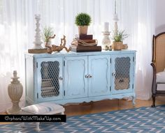 SOFT BLUE FURNITURE & FALL! (yes, it works!) — Orphans With MakeUp