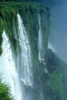 Also on the list: Iquazu Falls, South America Beautiful Waterfalls, Beautiful Landscapes, Places To Travel, Places To See, Iguazu Falls, Les Continents, Les Cascades, South America Travel, America America