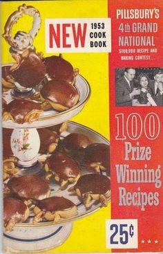 Pillsbury's 4th Grand National 1953 Cook Book