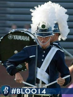 drum and bugle corps competition Marching Music, Marching Band Uniforms, Marching Bands, Santa Clara Vanguard, Drum Corps International, Drumline, Band Nerd, Uniform Design, Martial
