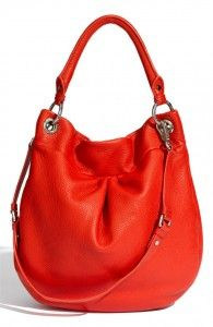 Marc by Marc Jacobs 'Classic Q – Hillier' Hobo in Cherry Red - on my wish list.