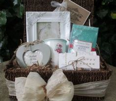 Mother of the Groom Seagrass Hamper Option 2