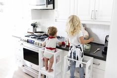 Ikea hacks are such an easy way to instantly upgrade your home! These Ikea Kitchen Hacks will help you to upgrade your Kitchen! Ikea Hacks, Ikea Hack Kids, Ikea Furniture Hacks, Kids Furniture, Ikea Hack Learning Tower, Ikea Step Stool, Toddler Kitchen, Kid Kitchen, Kitchen Island