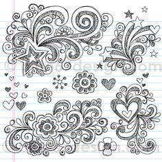 Sketchy Notebook Doodles