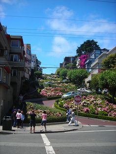 Lombard St....San Fransisco, California