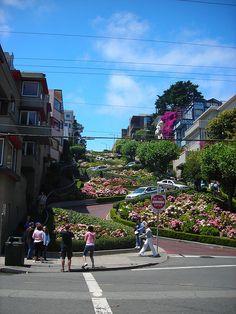 Lombard St....San Fransisco, California