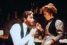 Kevin Kline and Linda Hunt in Silverado (1985)
