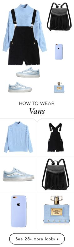"""Untitled #425"" by janinus-belus-elpuberto on Polyvore featuring WithChic, Vans, Versace, women's clothing, women's fashion, women, female, woman, misses and juniors"