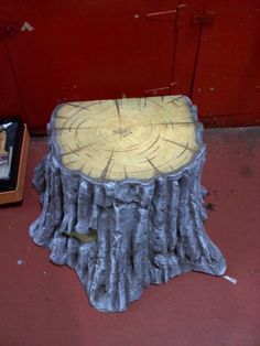 Marc lookie here, have you thought about turning the trees you make into a stump!! This is so cute! Tutorial for making aTree Stump! Thanks for the inspiration!