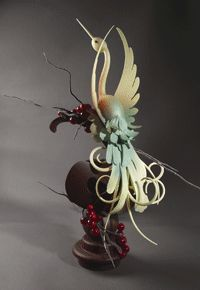 Chocolate Showpieces for Competition or Display with Chef Stephane Leroux, M.F - The French Pastry School Chocolate Work, Chocolate Flowers, Chocolate Heaven, Modeling Chocolate, Chocolate Brown, Pulled Sugar Art, French Pastry School, In Loco, Chocolate Showpiece