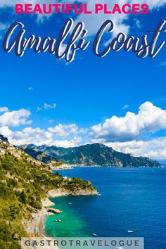 You Must See These Beautiful Places On The Amalfi CoastBy Janine Thomas - Sorrento Amalfi, Amalfi Coast, Positano, Beach Trip, Beach Travel, Hawaii Beach, Oahu Hawaii, Florida Travel, Mexico Travel