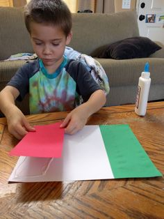 A to Z Learning Adventures: The Italian Flag #mgtblogger