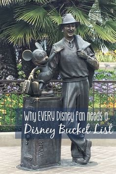 Why every Disney fan needs a Disney bucket list! Disney World, Disneyland, Shanghai Disney, Aulani, Disney Cruise Line... wherever your Disney bucket list takes you, we've got some great ideas and reasons why you should have it in the first place! :)