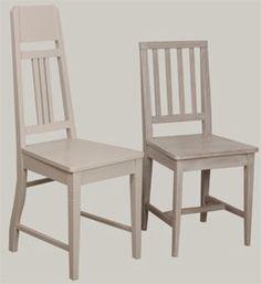 Harmaiksi pintakäsitellyt JUVI-tuolit. Jugend ja 4-pinna. juvi.fi Finland