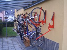 Fahrradständer, Fahrradparker, Fahrradparksysteme